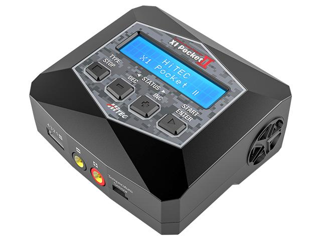 AC Balance Charger/Discharger X1 Pocket Ⅱ[ ACバランス充・放電器 X1 ポケット Ⅱ ] 本体