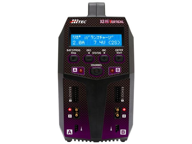 multi charger X2 AC Plus Vertical[ マルチチャージャー X2 ACプラス バーティカル ] 本体正面