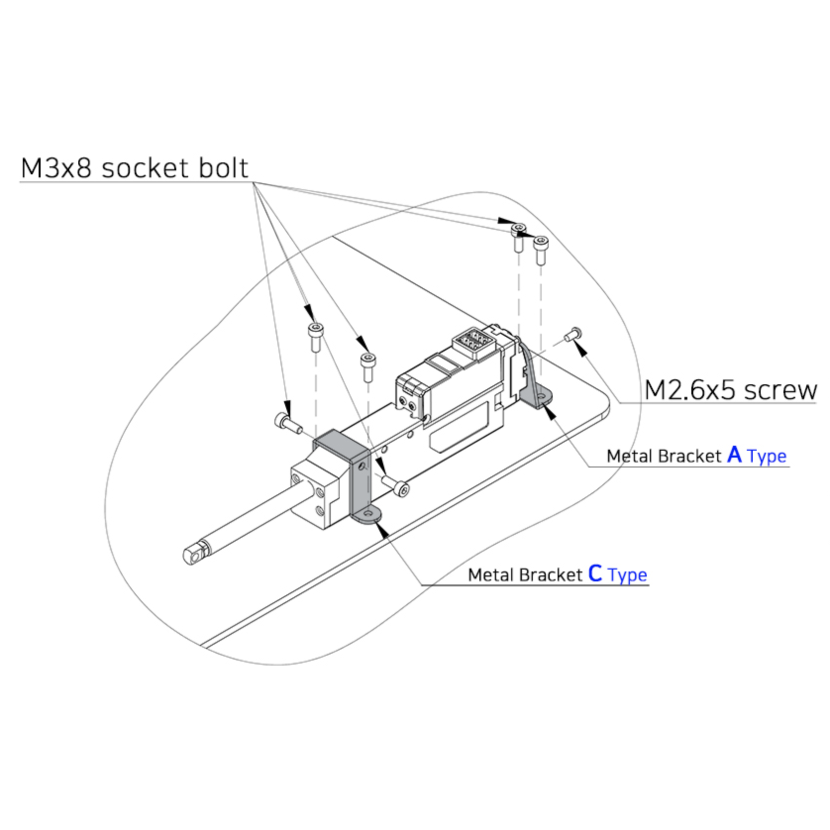 Metal Bracket (IR-MB03)