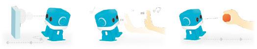 コントロール インテリジェンスエデュケーションミュージックロボット cubee [キュービー]