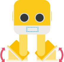 プログラミング インテリジェンスエデュケーションミュージックロボット cubee [キュービー]