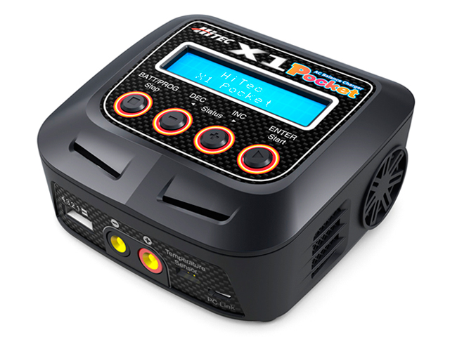 AC Balance Charger X1 Pocket [ACバランスチャージャー X1 ポケット]