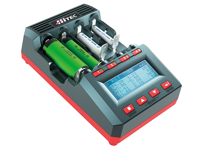 Universal Battery Charger & Analyer X4 ADVANCED PRO