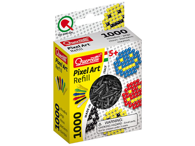 Pixel Art スペア製品 [カラーピン ブラック]
