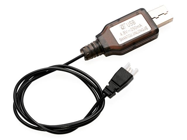 4.8V-250mAh USB充電器(ミニクローラー)