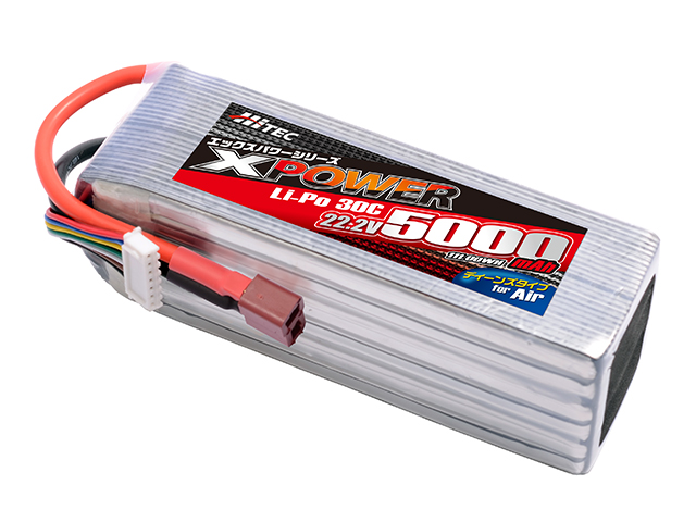 XPOWER Li-Po 22.2V 5000mAh 30C(for Air)