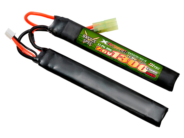 XPOWER Li-Po 7.6V 1300mAh 30C(Battle Spec)