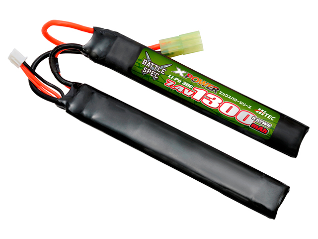 XPOWER Li-Po 7.4V 1300mAh 30C(Battle Spec)