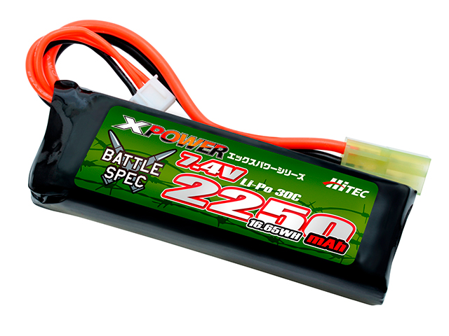 XPOWER Li-Po 7.4V 2250mAh 30C(Battle Spec)