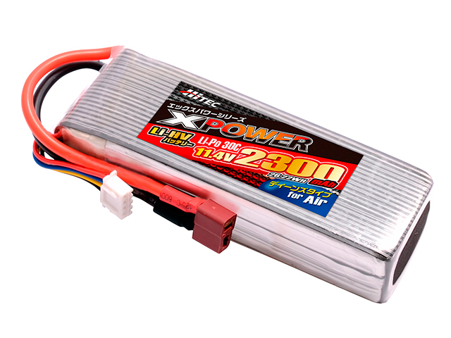 XPOWER Li-Po 11.4V 2300mAh 30C(for Air)