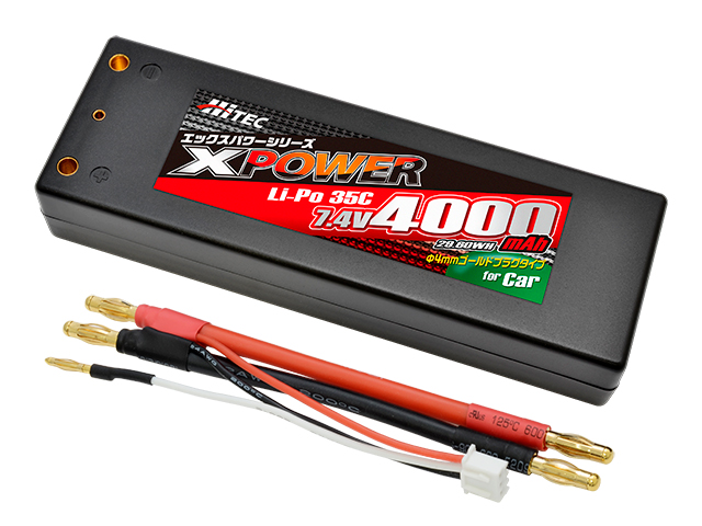 XPOWER Li-Po 7.4V 6500mAh 70C(for Car)