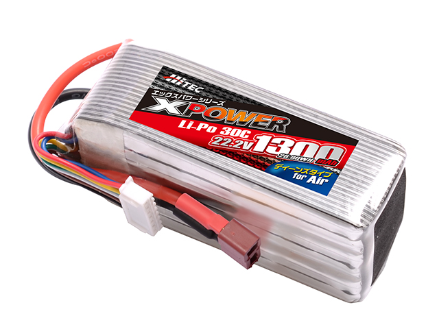 XPOWER Li-Po 22.2V 1300mAh 30C(for Air)