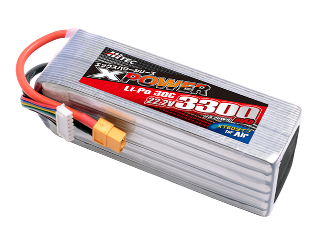 XPOWER Li-Po 22.2V 3300mAh 30C(for Air)