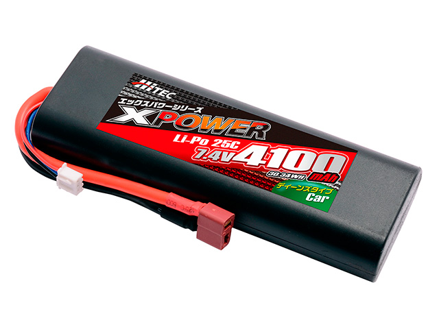 XPOWER Li-Po 7.4V 4100mAh 25C(for Car)