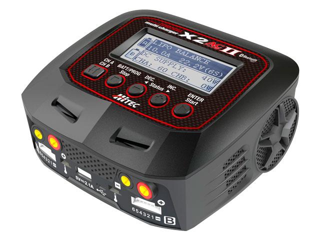 バランサー内蔵・オールマイティ多機能充・放電器 multi charger X2 AC plus Ⅱ TYPE-E [ マルチチャージャー X2 AC プラス Ⅱ  タイプ-E ]
