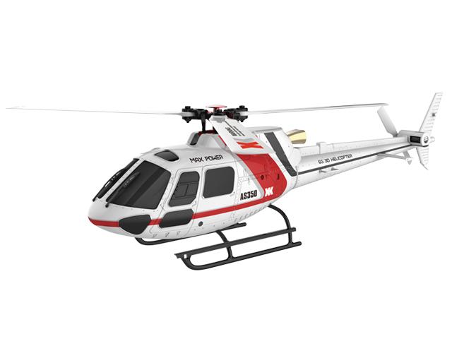 6CH ブラシレスモーター 3D6Gシステムヘリコプター [AS350 K123]