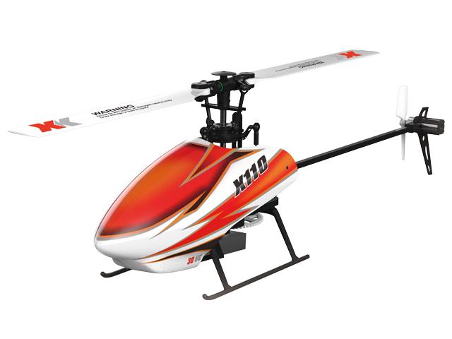 6CH ブラシレスモーター 3D6Gシステムヘリコプター [K110]