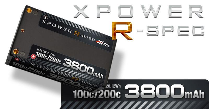 新生 ─ X POWERバッテリー 「R-spec」が登場!